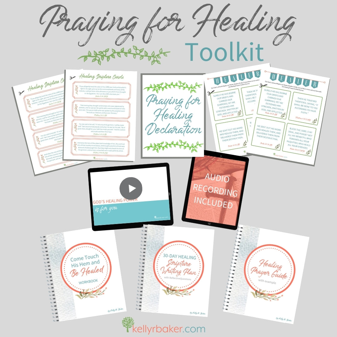 Praying for Healing Toolkit (82 pages + more)