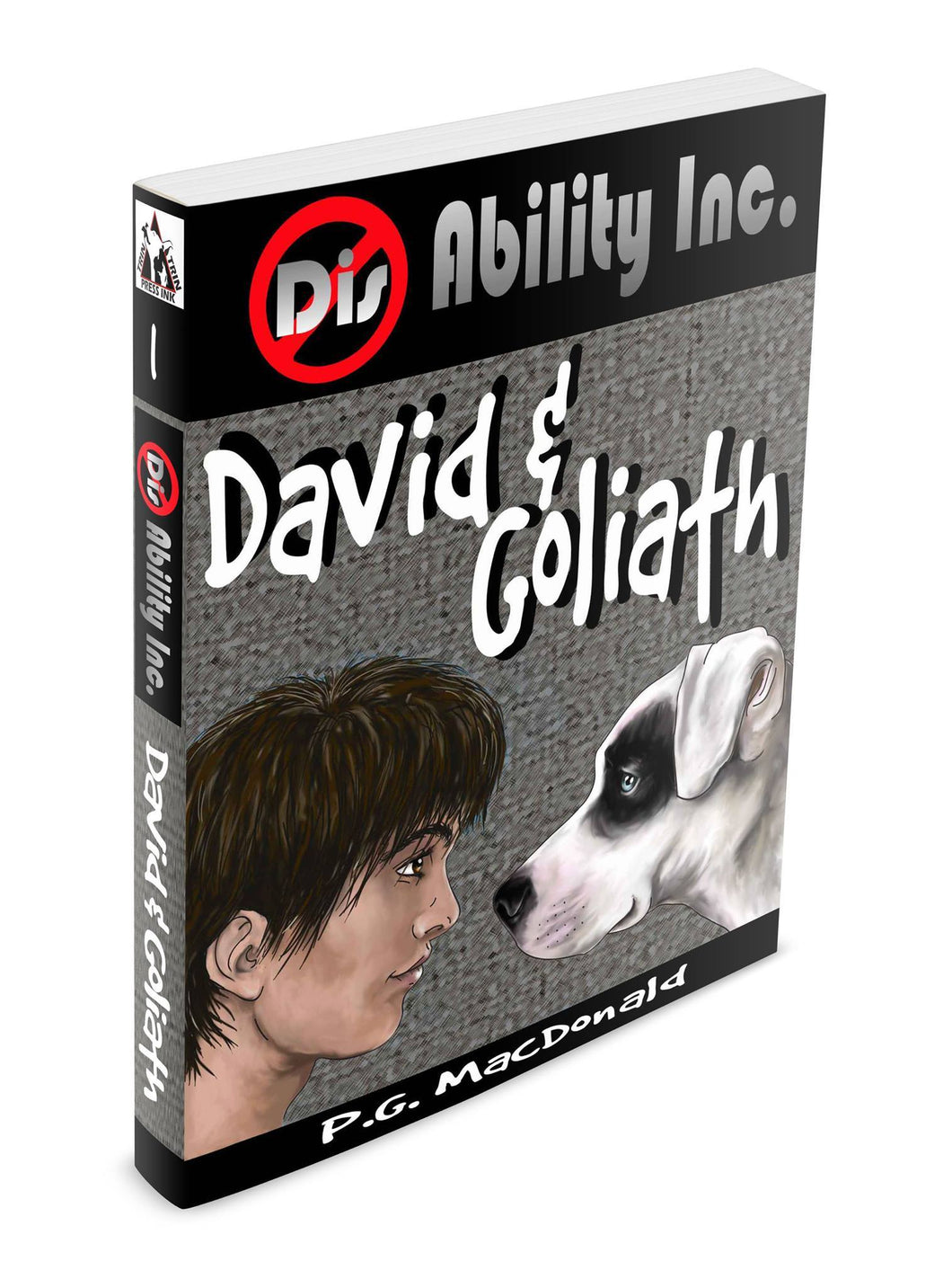 David & Goliath Book- PG Macdonald Books
