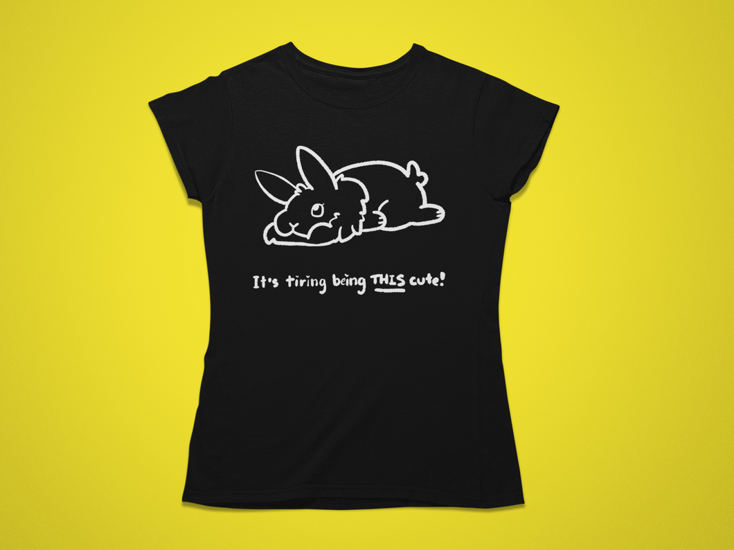 Tired Rabbit - Men's/ Unisex or Women's Tshirt