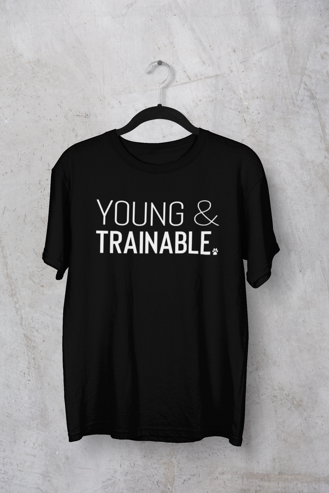 Young & Trainable Men's/Unisex or Women's T-shirt