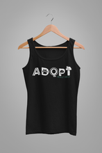Load image into Gallery viewer, ADOPT (Feline Style) Men's/Unisex or Women's Tank
