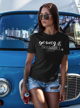 Load image into Gallery viewer, Young & Trainable Men's/Unisex or Women's T-shirt