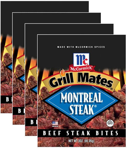 Montreal Steak® Bites (4-Pack) - Red Truck Jerky