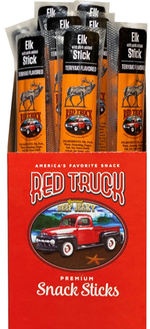 Teriyaki Elk Gourmet Meat Sticks Red Truck Jerky