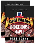 Grill Mates Smokehouse Maple® Beef Jerky Jerky Red Truck 2-Pack ($8.68 / bag)