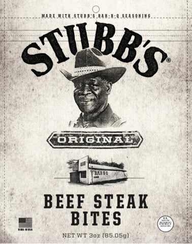 Stubbs® BBQ Steak Bites Jerky Red Truck