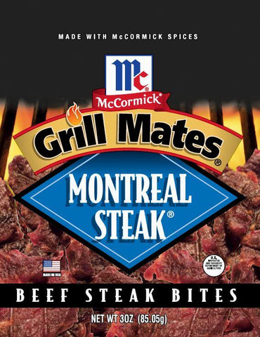 Grill Mates Montreal Steak® Bites Jerky Red Truck