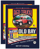 Old Bay® Beef Jerky Beef Jerky Red Truck 2-Pack ($8.68 / bag)