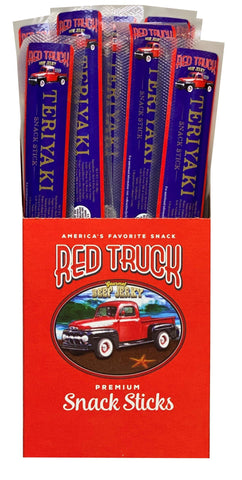 Teriyaki Beef Gourmet Meat Sticks Red Truck Jerky