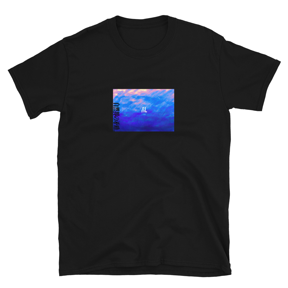 the sea, the sky (front and back)