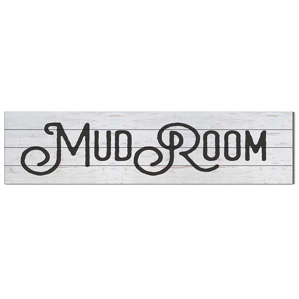 40x10 Whitewash Slat Sign Mudroom