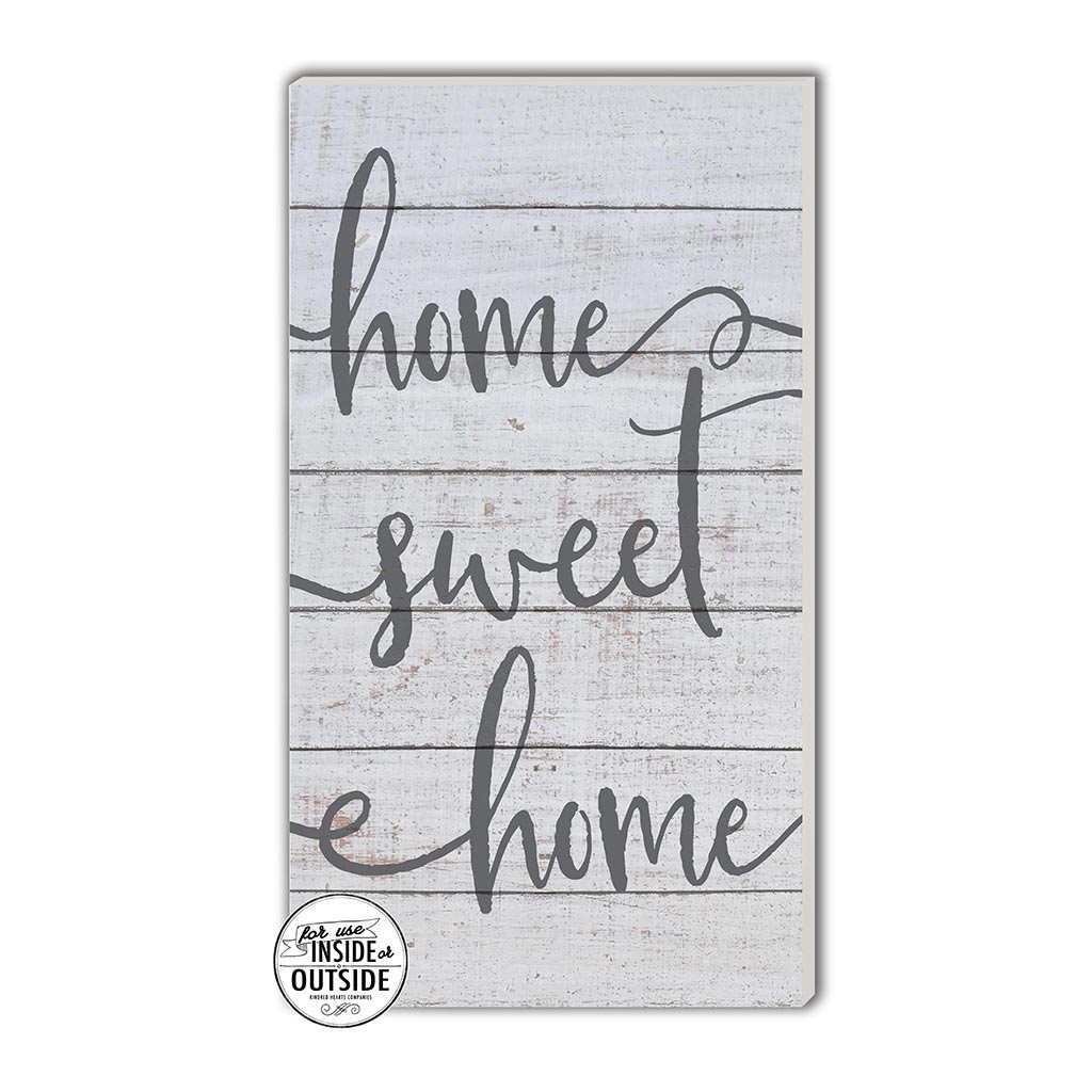 11x20 Indoor Outdoor Whitewash Sign Home Sweet Home