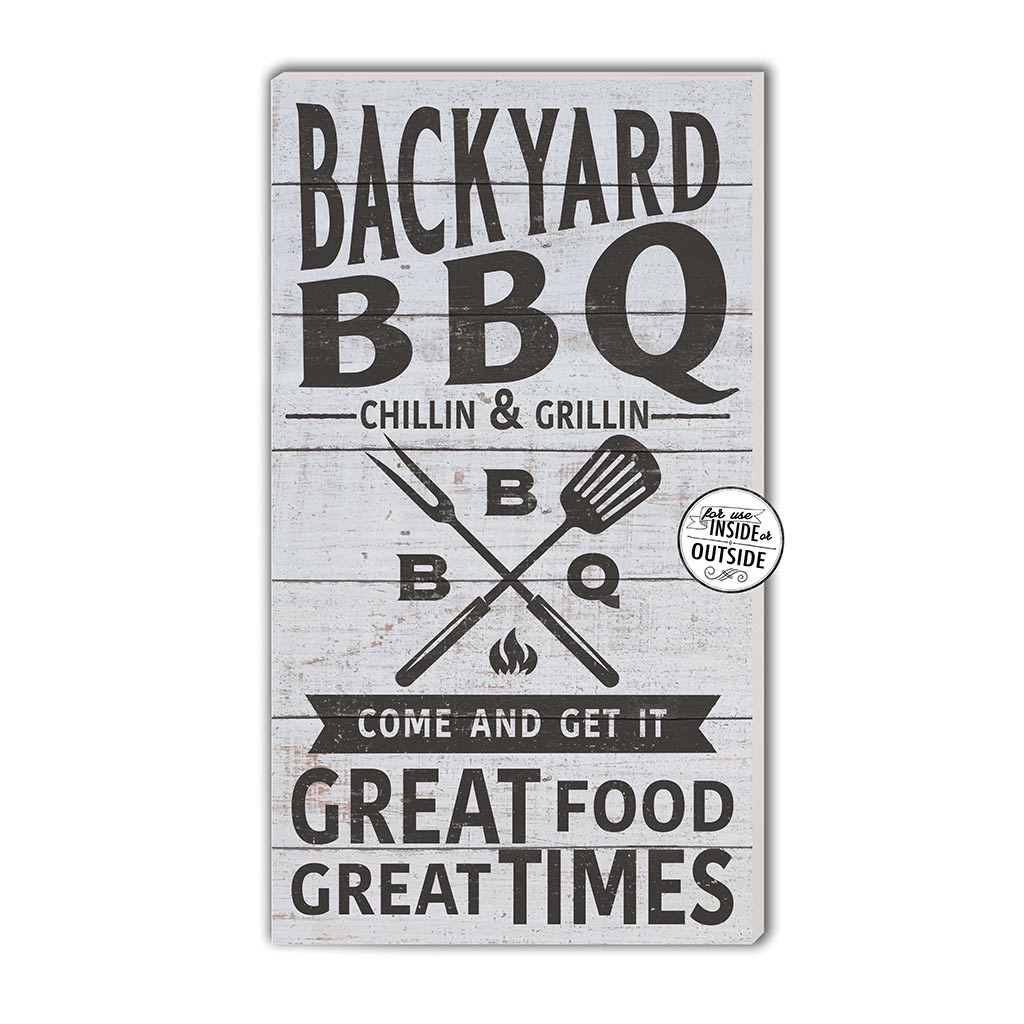 11x20 Indoor Outdoor Whitewash Backyard BBQ