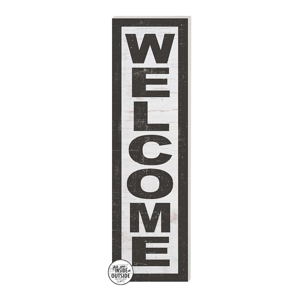 10x35 Indoor Outdoor Whitewash Sign WELCOME