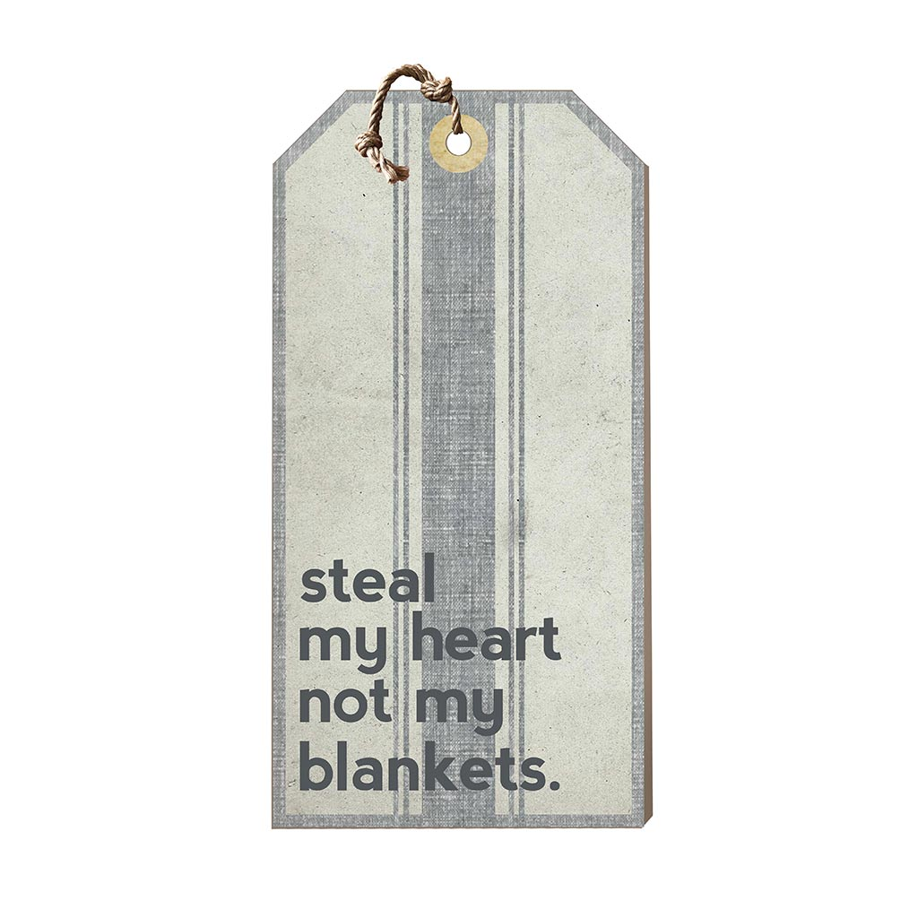 Large Hanging Tag Steel My Heart