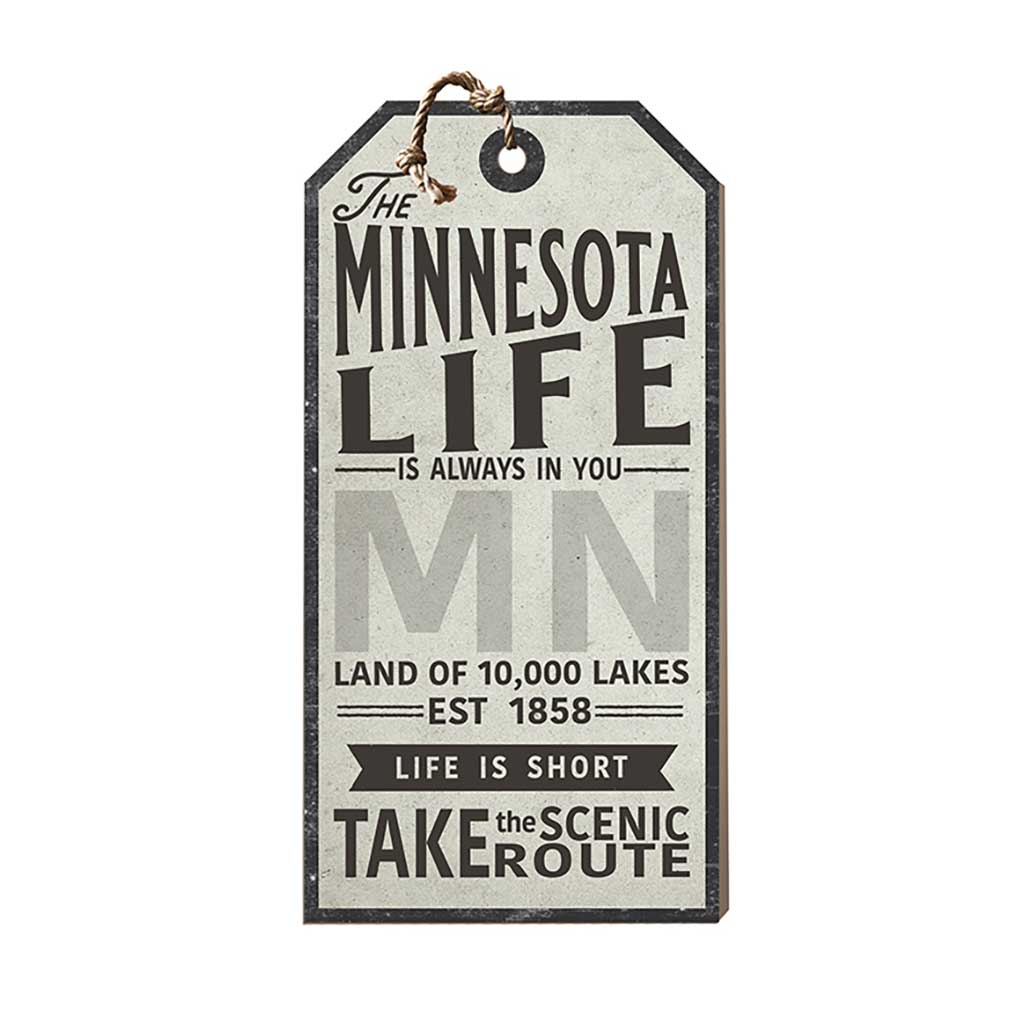 Minnesota Life Large Hanging Tag