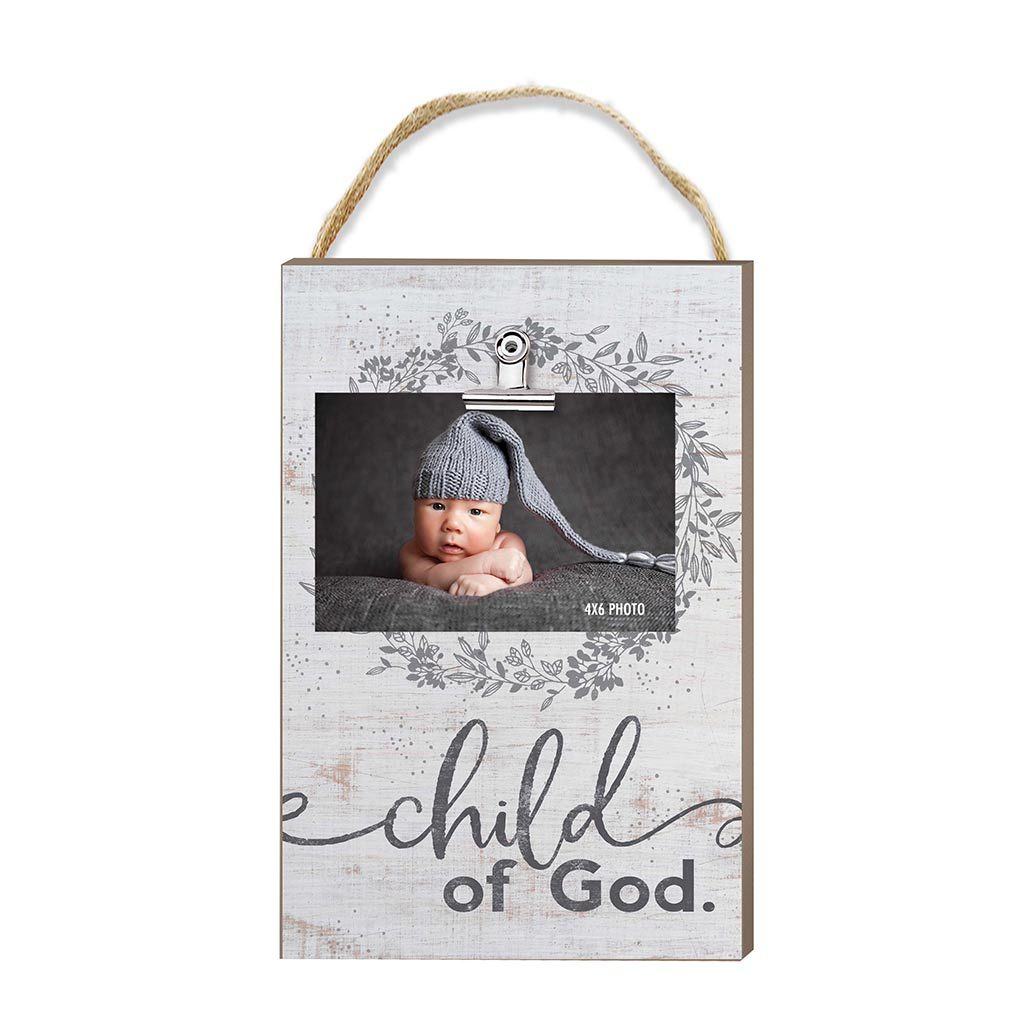 Hanging Clip Photo Frame Child of God