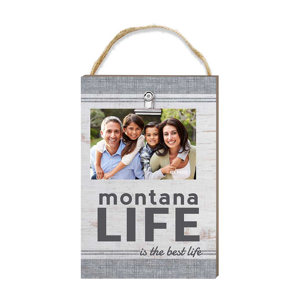 Montana Life Hanging Clip Photo Frame