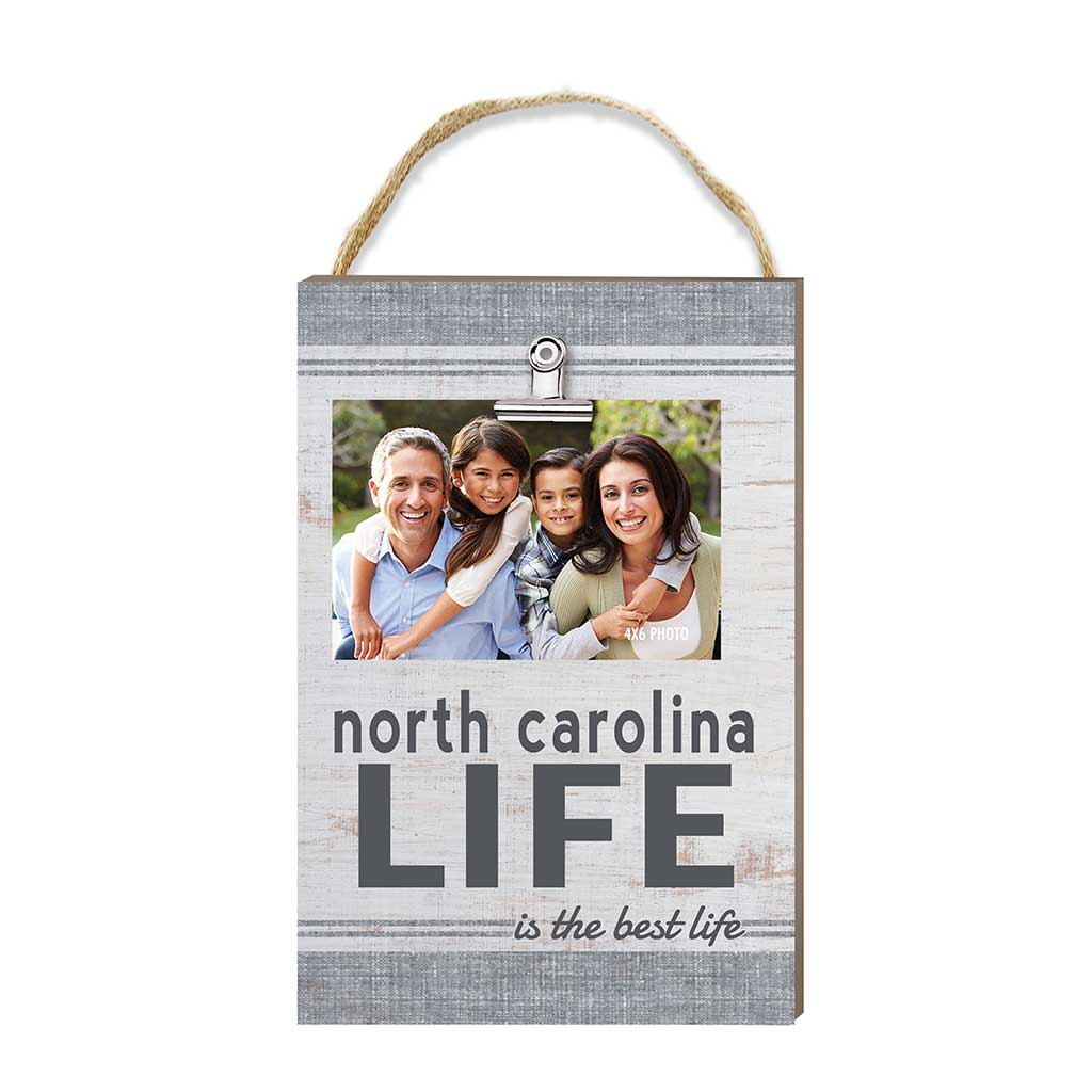 North Carolina Life Hanging Clip Photo Frame