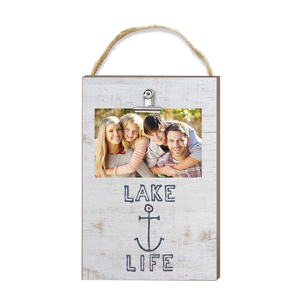 Hanging Clip Photo Frame Lake Life Anchor