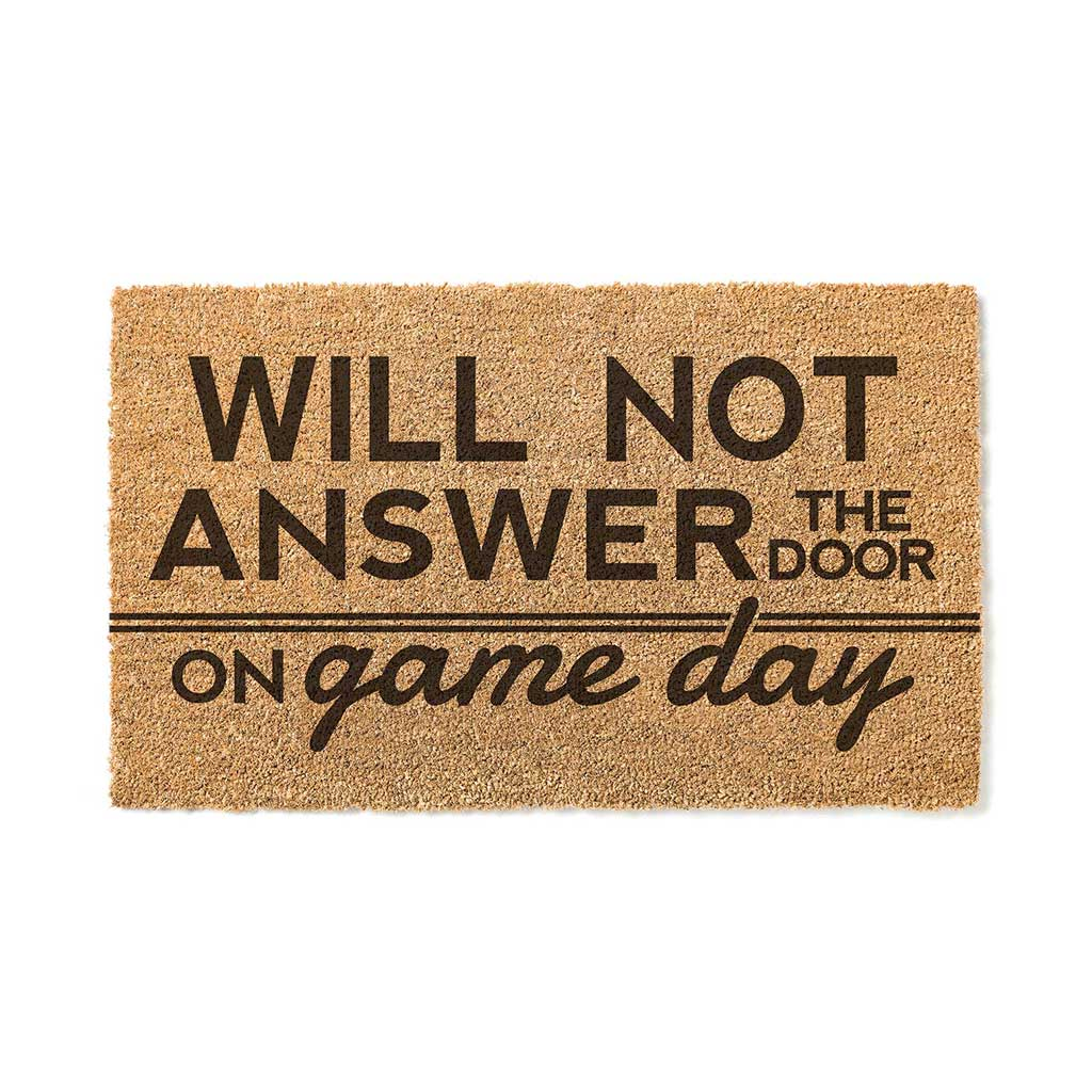 18x30 Coir Doormat Will Not Answer on Game Day