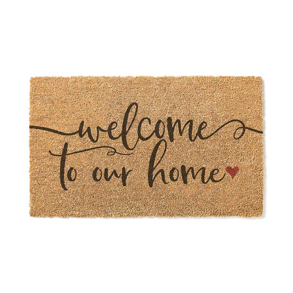 18x30 Coir Doormat Welcome to Our Home