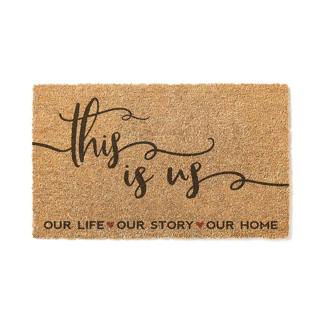 18x30 Coir Doormat This is Us