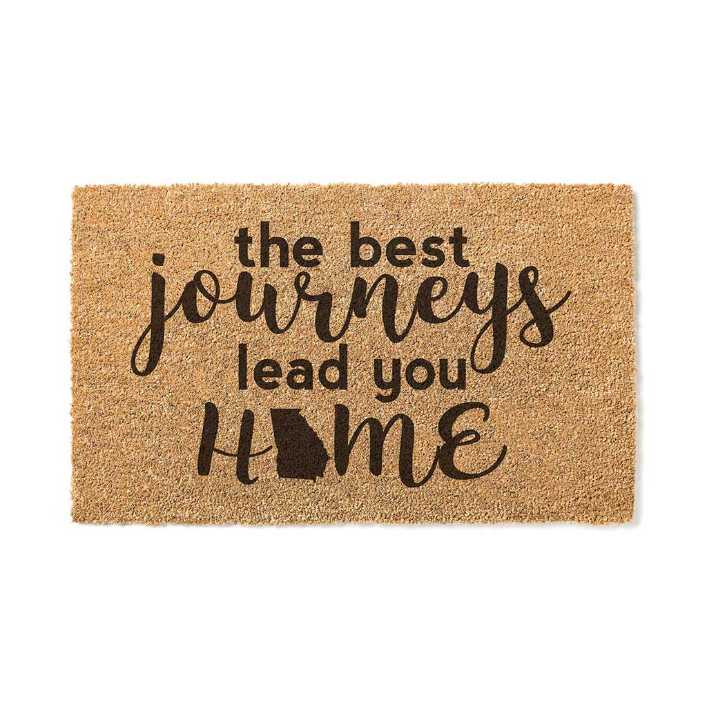 18x30 Coir Doormat Best Journeys Georgia
