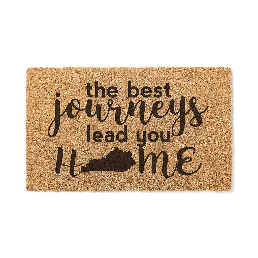18x30 Coir Doormat Best Journeys Kentucky