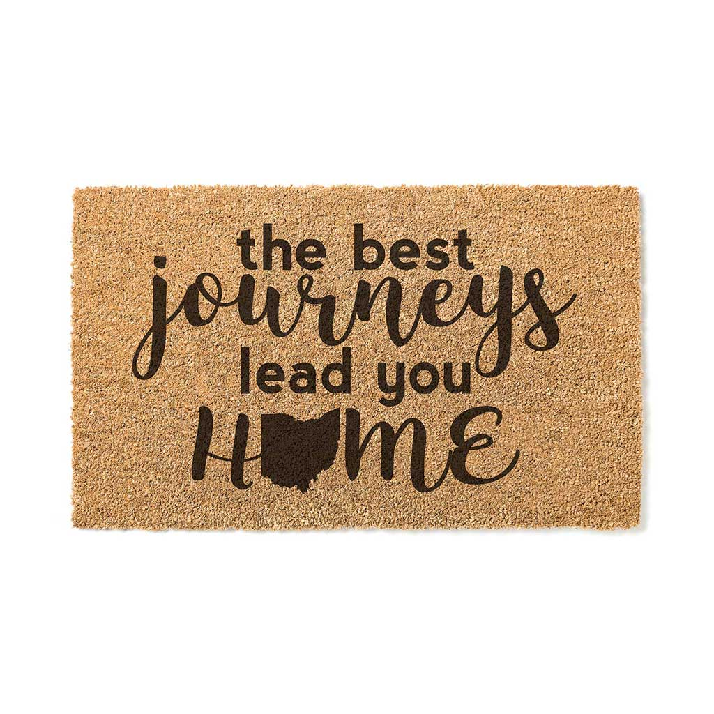 18x30 Coir Doormat Best Journeys Ohio