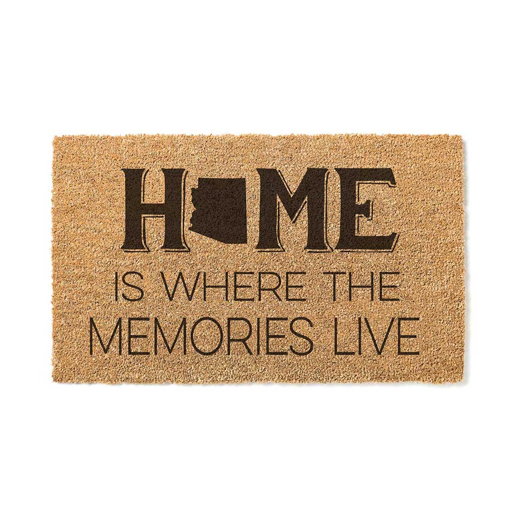 18x30 Coir Doormat Home Memories Live Arizona