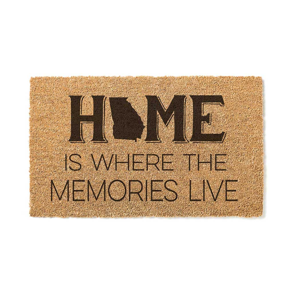 18x30 Coir Doormat Home Memories Live Georgia