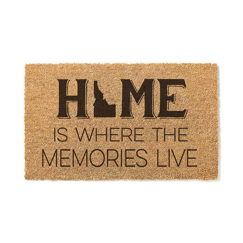 18x30 Coir Doormat Home Memories Live Idaho