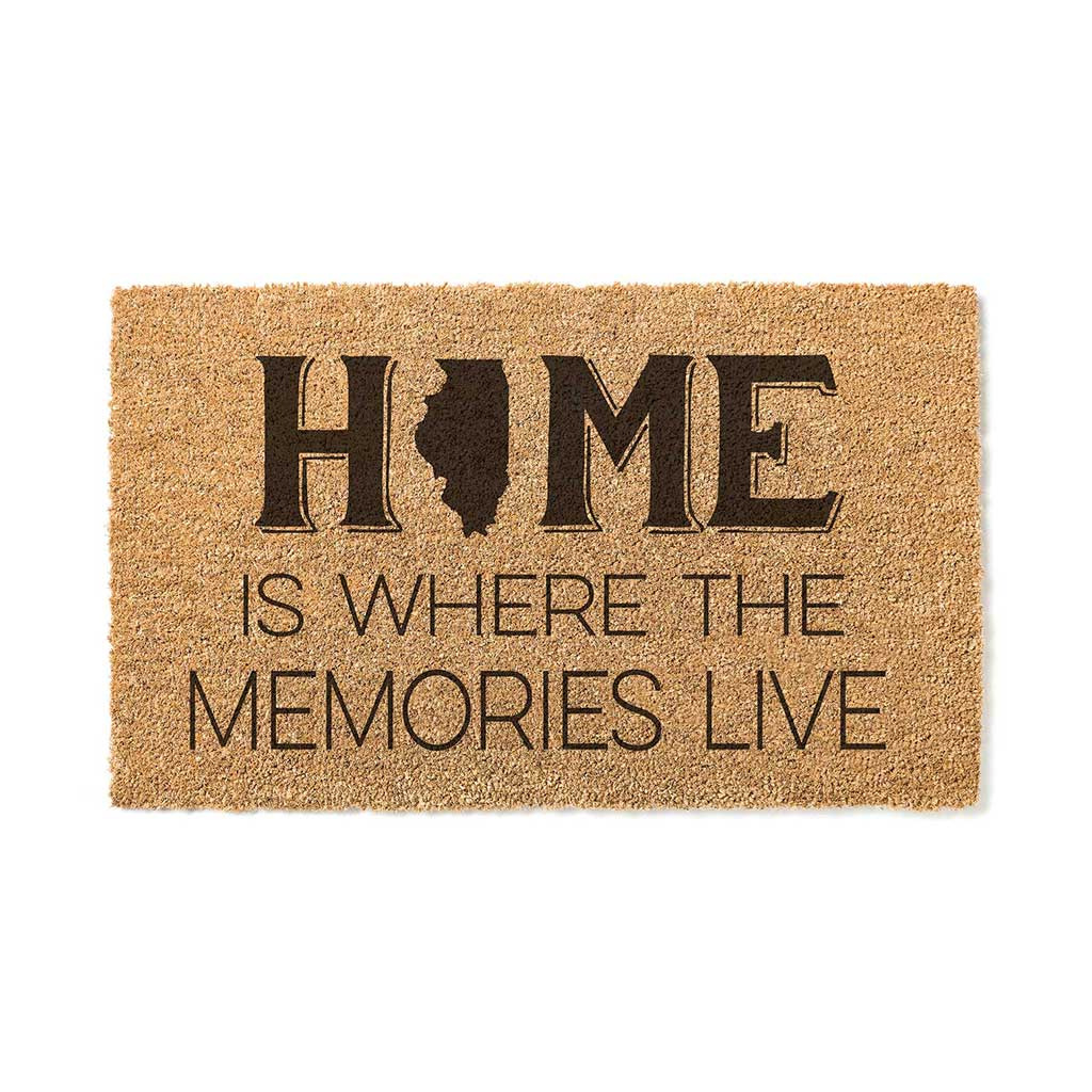 18x30 Coir Doormat Home Memories Live Illinois