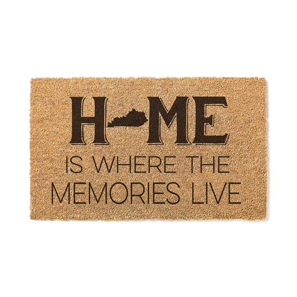 18x30 Coir Doormat Home Memories Live Kentucky