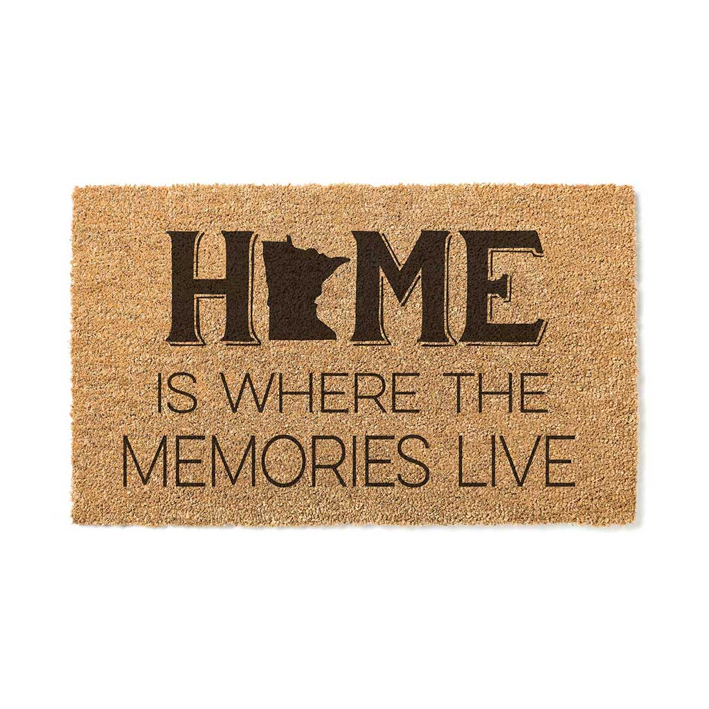 18x30 Coir Doormat Home Memories Live Minnesota