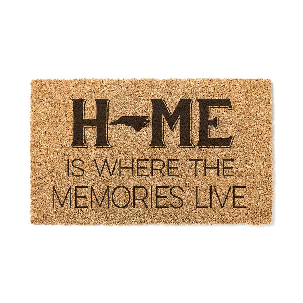 18x30 Coir Doormat Home Memories Live North Carolina
