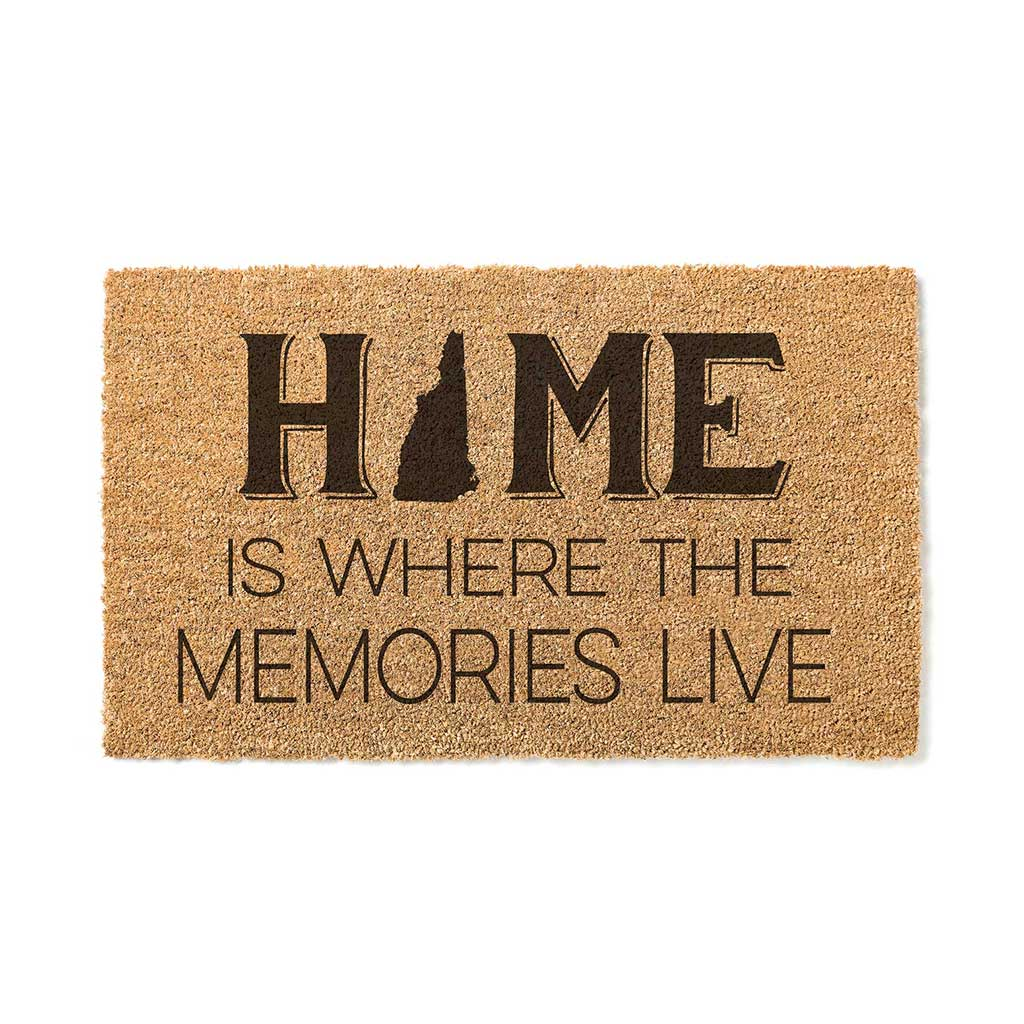 18x30 Coir Doormat Home Memories Live New Hampshire