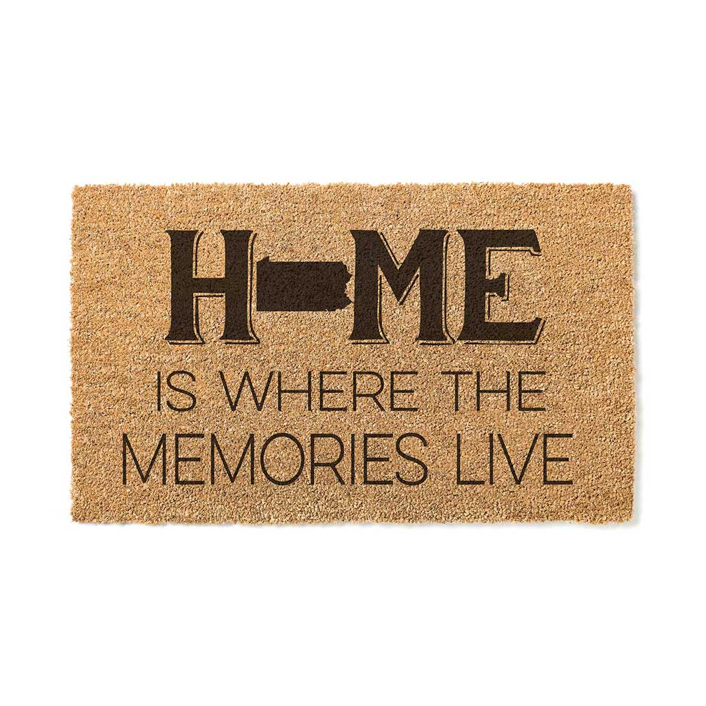 18x30 Coir Doormat Home Memories Live Pennsylvania