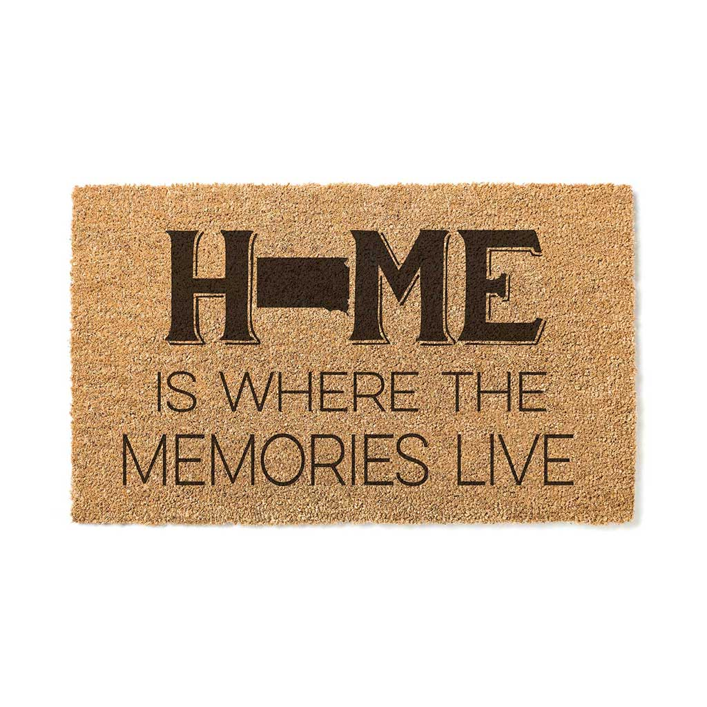 18x30 Coir Doormat Home Memories Live South Dakota