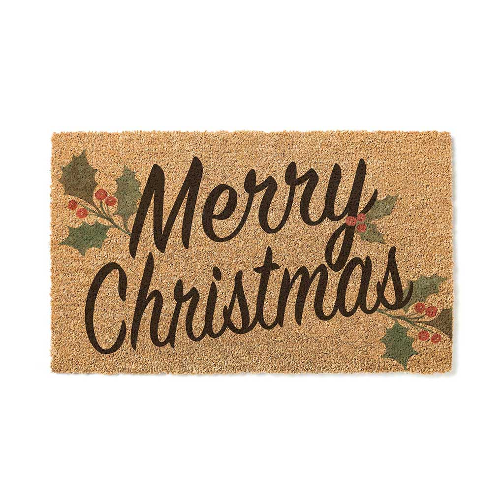 18x30 Coir Doormat Merry Christmas