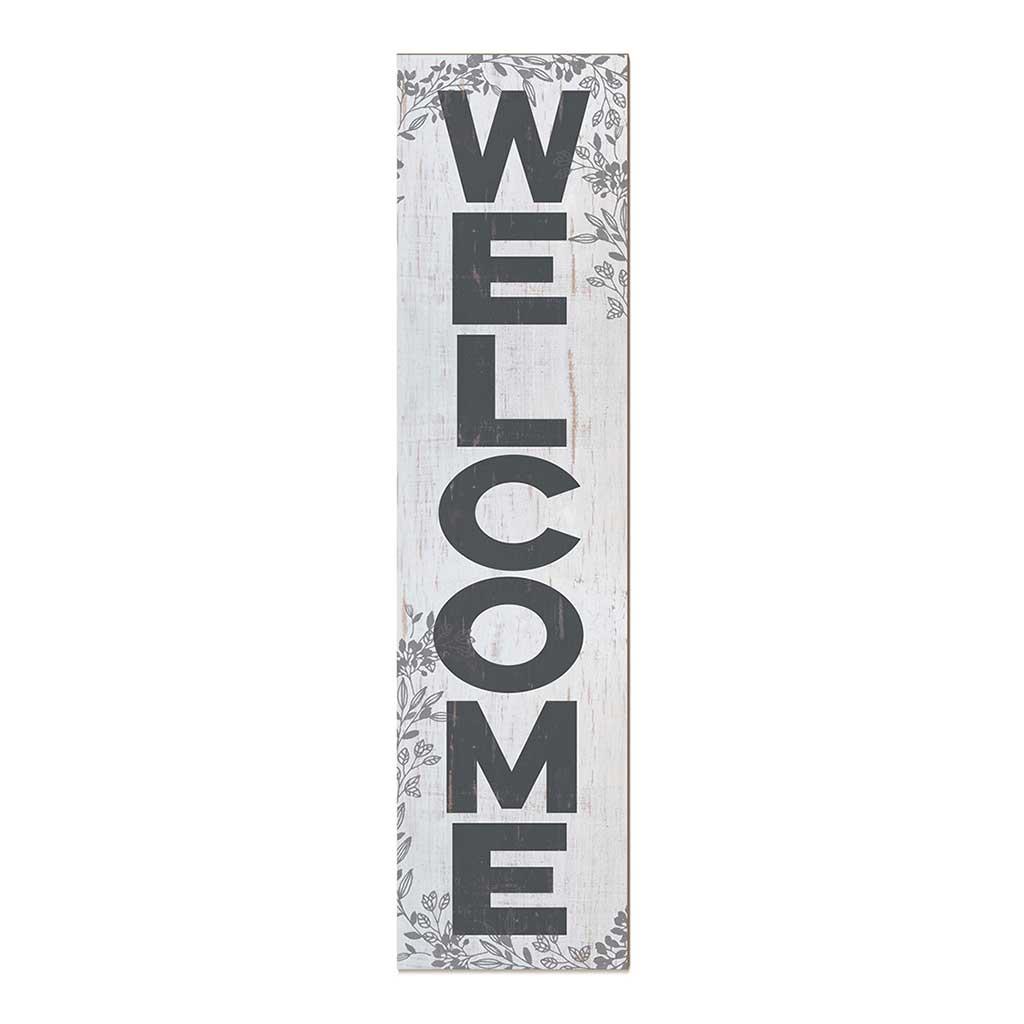 12x48 Welcome Foliage Leaner Sign