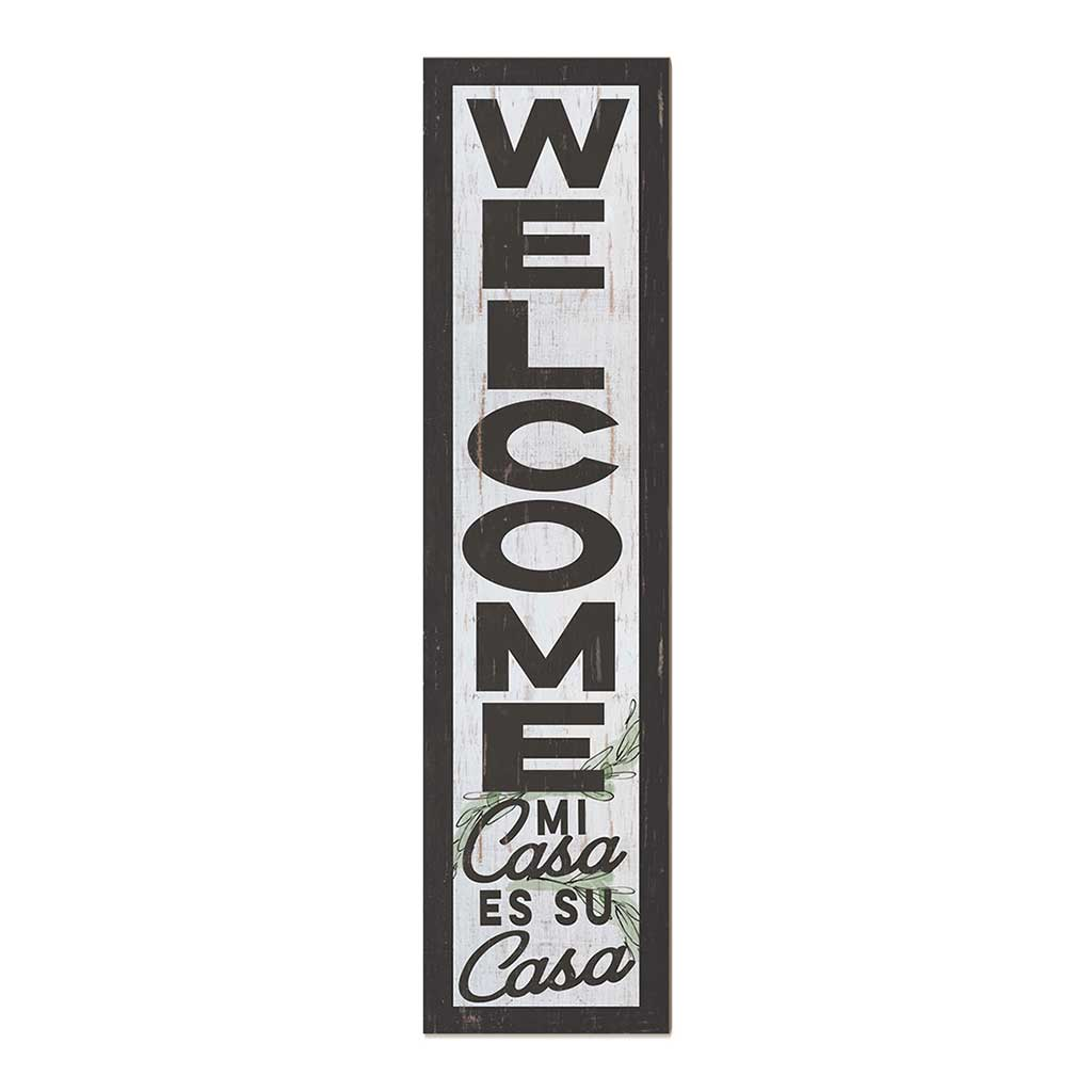 12x48 Welcome Mi Casa Leaner Sign