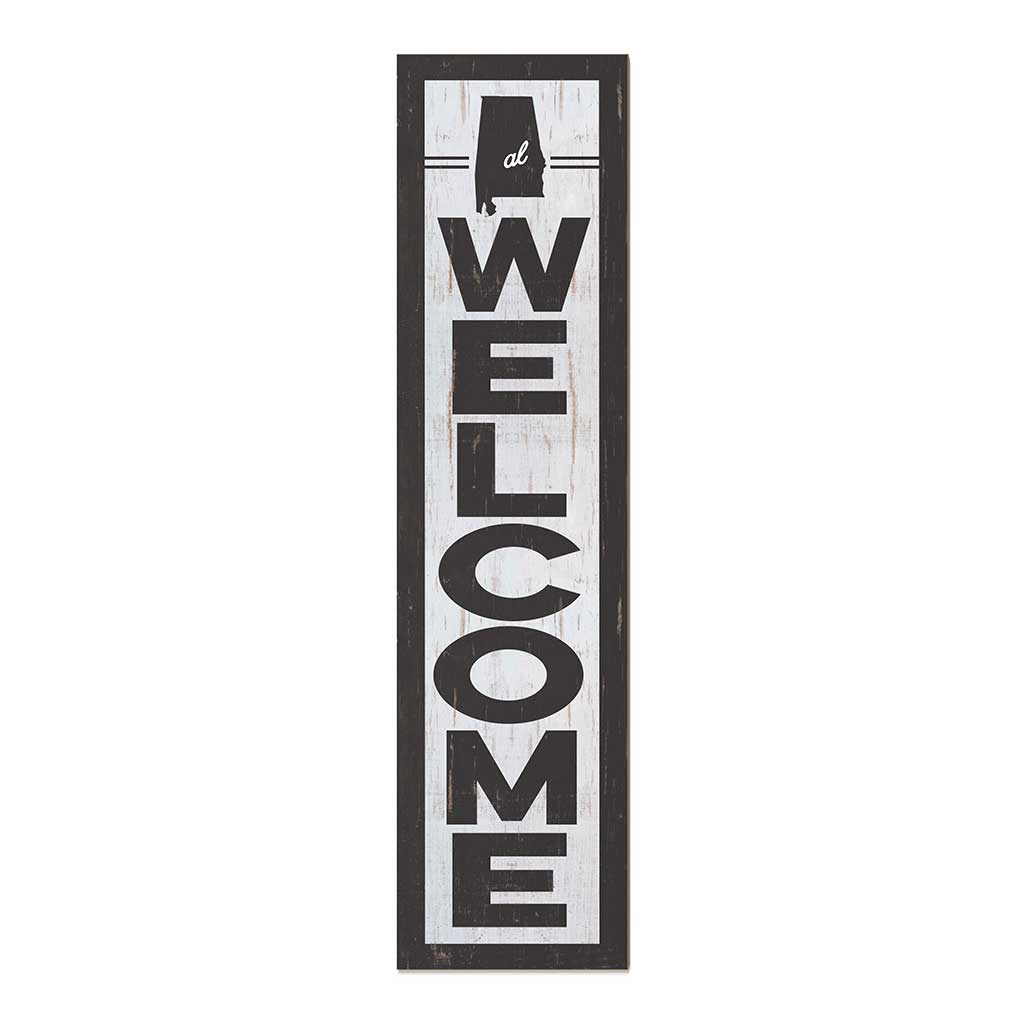 12x48 State Welcome Alabama Leaner Sign