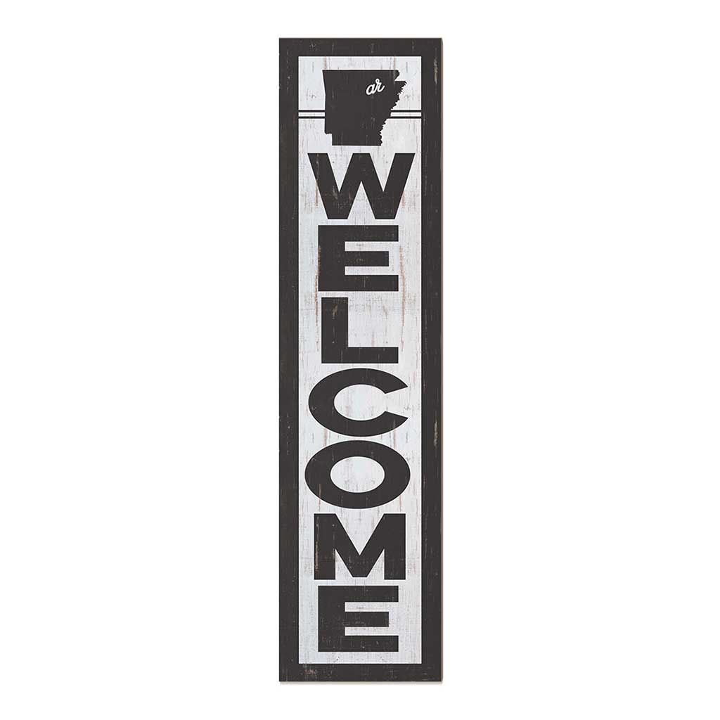 12x48 State Welcome Arkansas Leaner Sign