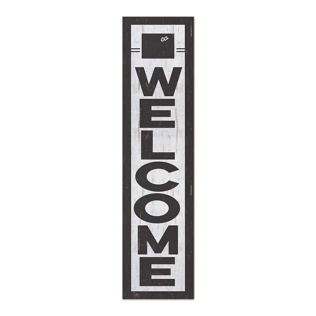 12x48 State Welcome Colorado Leaner Sign