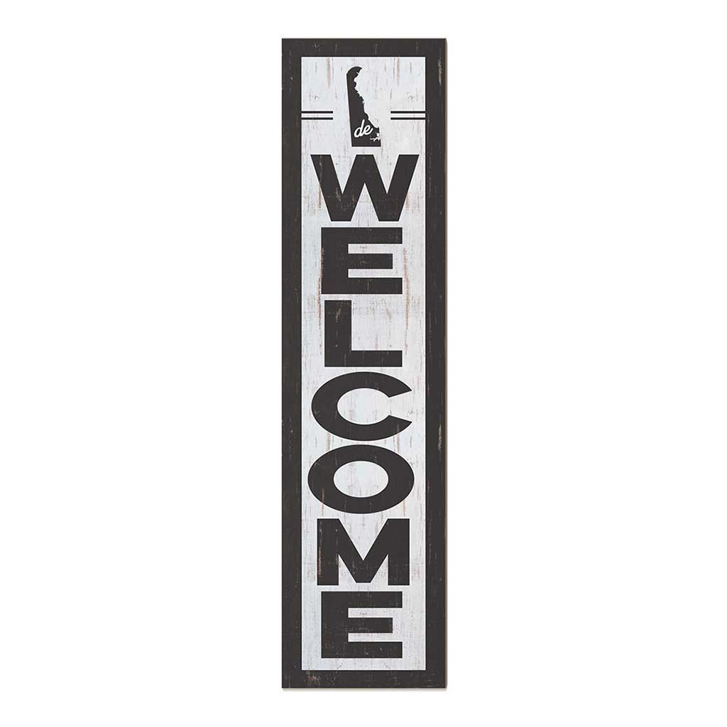 12x48 State Welcome Delaware Leaner Sign