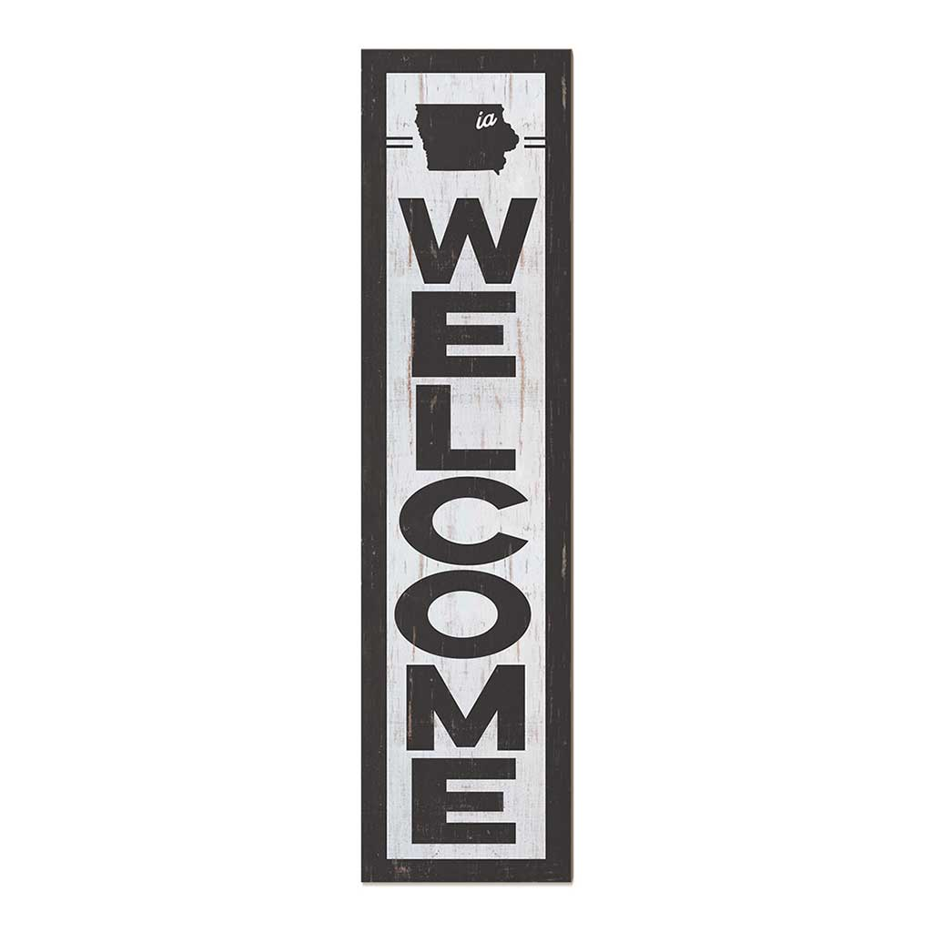 12x48 State Welcome Iowa Leaner Sign