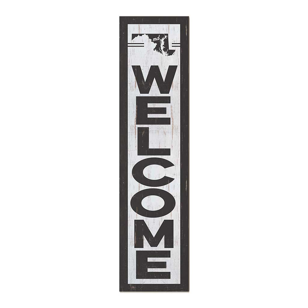 12x48 State Welcome Maryland Leaner Sign