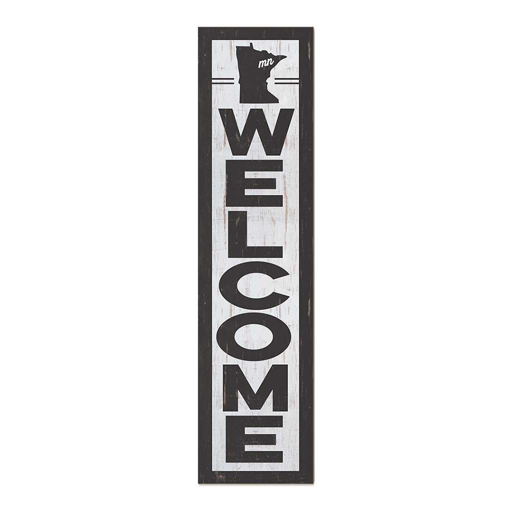 12x48 State Welcome Minnesota Leaner Sign
